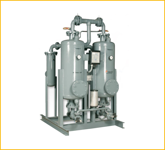 Compressed Air Dryer (Heatless)