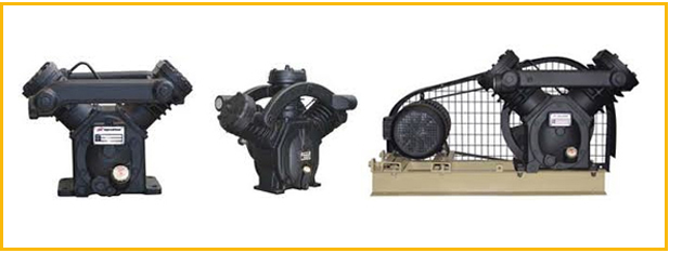 Electric Driven Single Two Stage Dry Type Vacuum Pumps