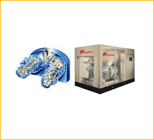 Sierra - Rotary Oil - Free Screw Air Compressor
